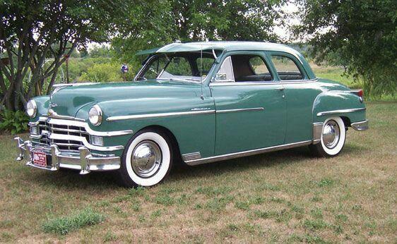 1949 Chrysler Windsor Club Coupe Chrysler Windsor American