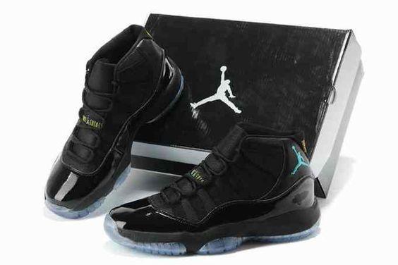 2014 New Release Air Jordan XI 11 Mens Shoes Black [nike_VYDV3879] - $85: cheap…