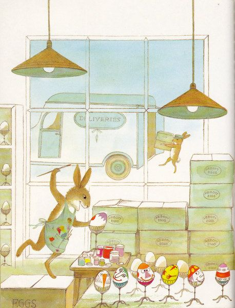 The Easter Egg Artists, Adrienne Adams illustrations.:
