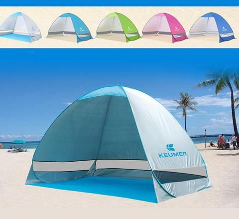 UV Protection Quick Automatic Opening Beach Tent Protable Ultraviolet Proof