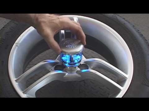 Spyder Can Am Roadster Motorcycle Wheel Lights GloRyderR Installation