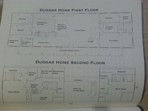 have always wanted to know what the floorplan to the duggar family house floor plans