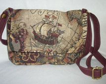 crossover tapestry purse - Google Search