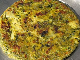 Fenugreek bread or paratha