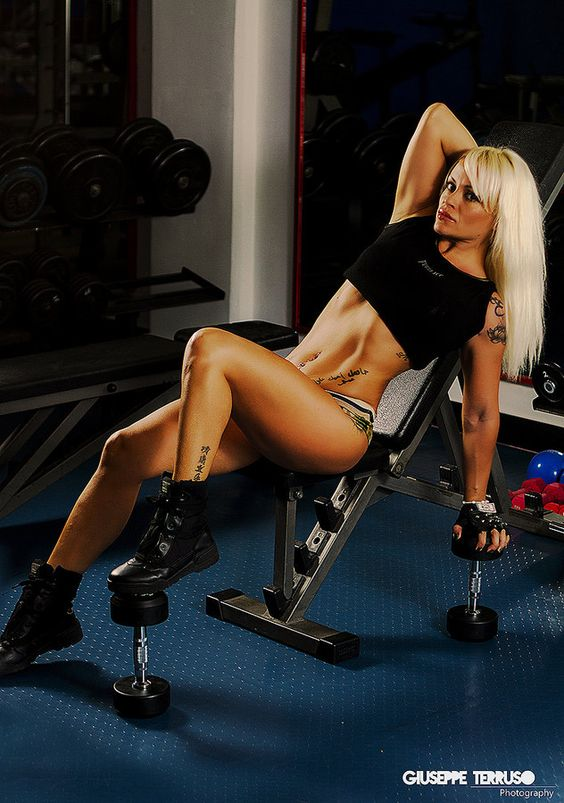 fitness girl ...