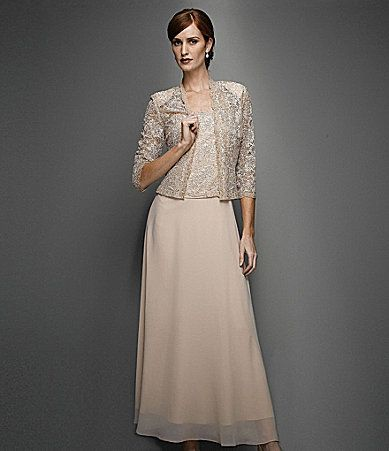 Mothers my mom and grace kelly on pinterest for Dillards wedding dresses mother of the bride