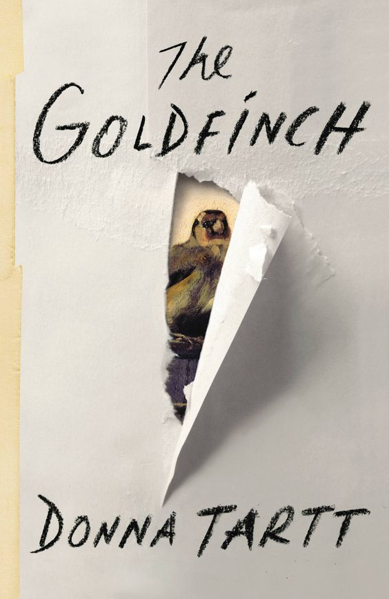 """The Goldfinch"" A book recommended by my dear friend meg"