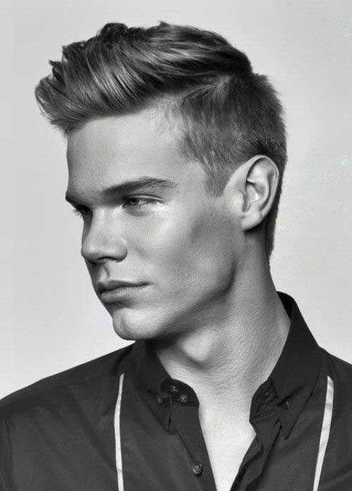 Mens Hair Short Sides Long Top Mens Hairstyles 2014