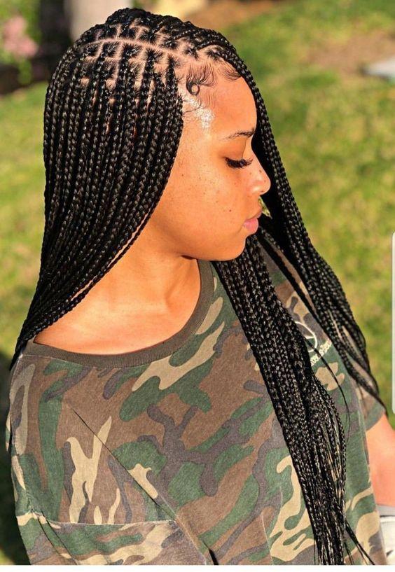 Pin On Box Braids Hairstyles