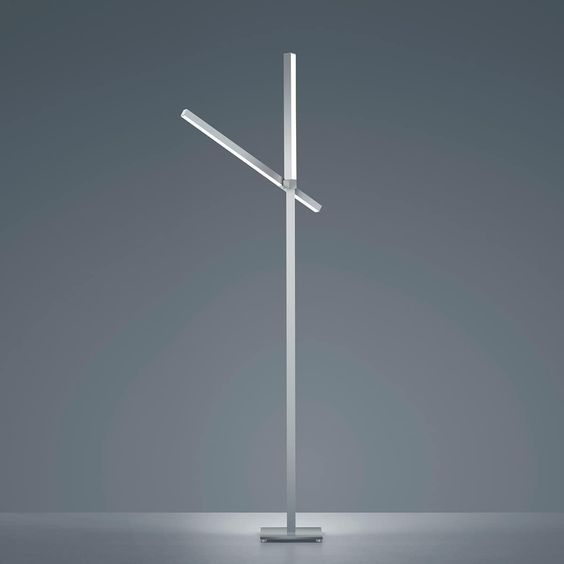 Helestra Stay Stehleuchte Aluminium Matt Led Lampen Decke Led Leuchtmittel Online Mobel