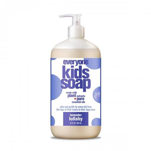 Everyone Soap For Every Kid Lavender Lullaby Skin Deep Cosmetics Database Ewg Body Wash Natural Shampoo Soap