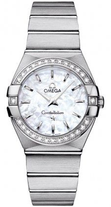 Omega Women's 123.15.27.60.05.001 Constellation White Mother-Of-Pearl