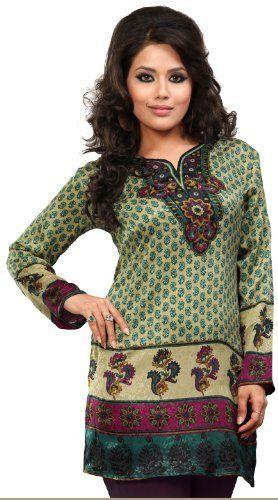 Indian Kurti Top Tunic Printed