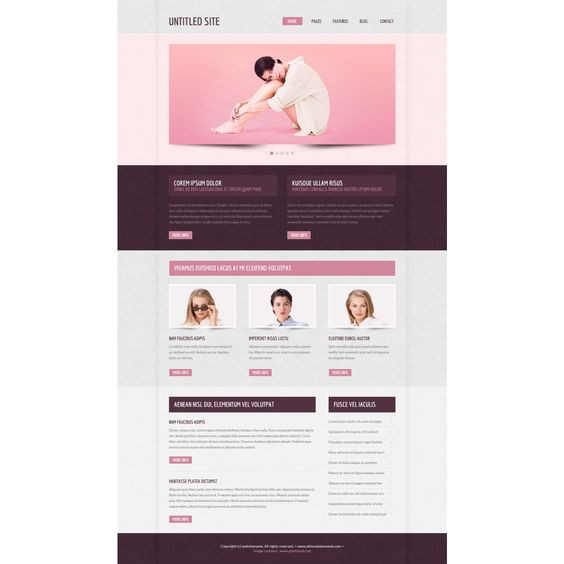 Pinterest Html Templates Website Templates | Free HTML Templates | TMPS00015 ...