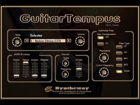 Pin On Virtual Guitar Vst Acoustic Nylon 6 12 Steel String Semi Acoustic Electric Win Audio Unit Mac