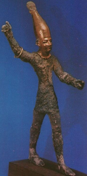 Statue of, Statue and Storms on Pinterest Baal Canaanite God