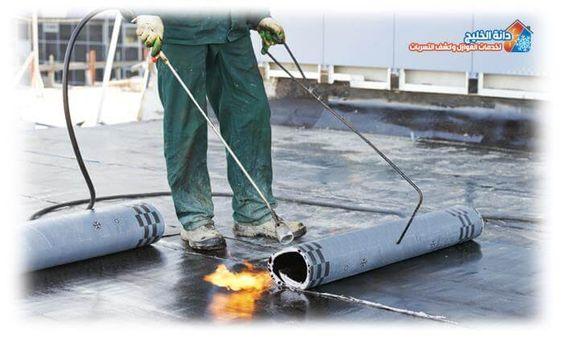 افضل شركة لخدمات العزل الحرارى والمائى للاسطح دانة الخليج In 2020 Commercial Roofing Roofing Contractors Roof Repair