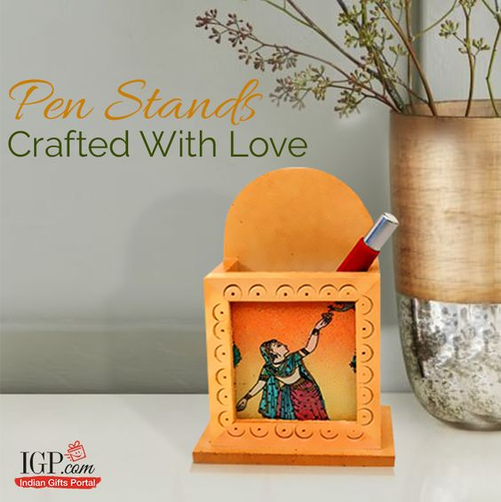 One of the best desk - top accessories! #GiftPenStand Gift Now