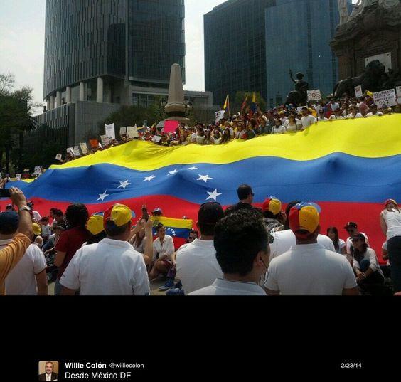 Protestas desde México.