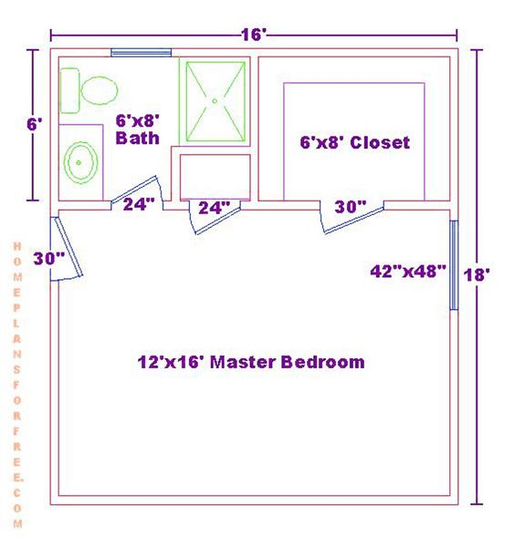 1000 ideas about home addition plans on pinterest home for Bedroom addition plans free