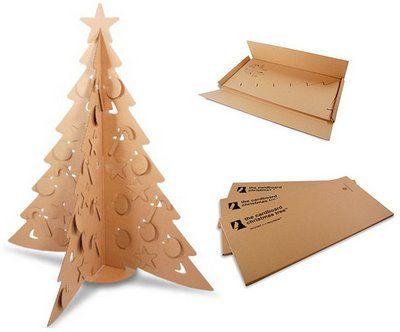 Bem Legaus!: Árvores de papelão