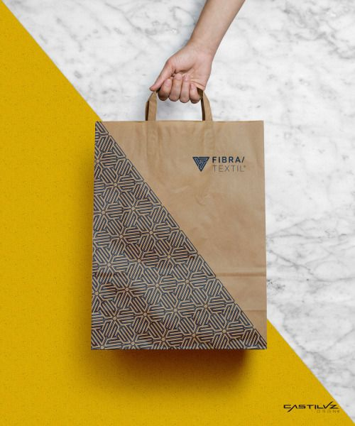 Fibra/Textil branding, corporate image by CastilvzDSGN
