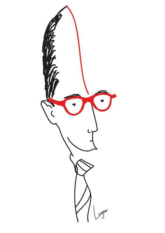 Caricaturas de Luyse Costa