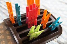 Glücksflügel: Spielsachen aus Alltagsmaterial: Eiswürfelformen von IKEA