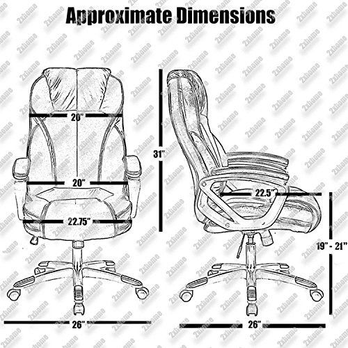Top 10 Computer Chairs For Bad Backs Of 2020 No Place Called Home Best Computer Chairs Adjustable Chairs Adjustable Office Chair