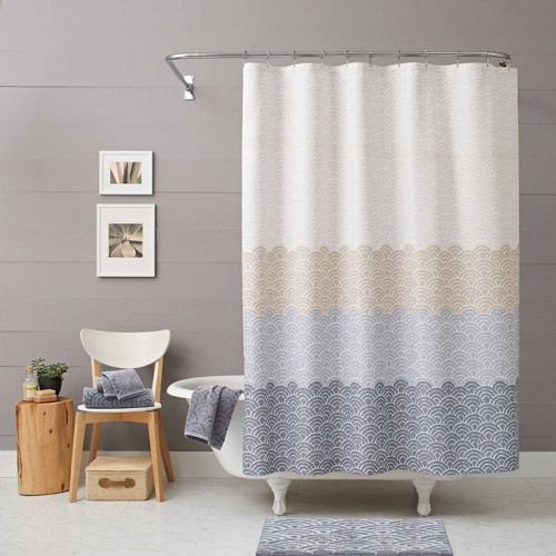 Curtains Ideas blue ombre shower curtain : Better Homes and Gardens Ombre Shower Curtain | Gardens, Home and ...