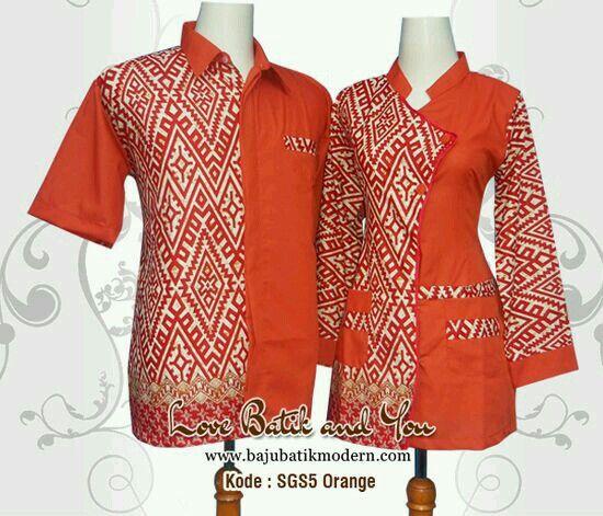 Baju Batik Pegawai Bank Bca