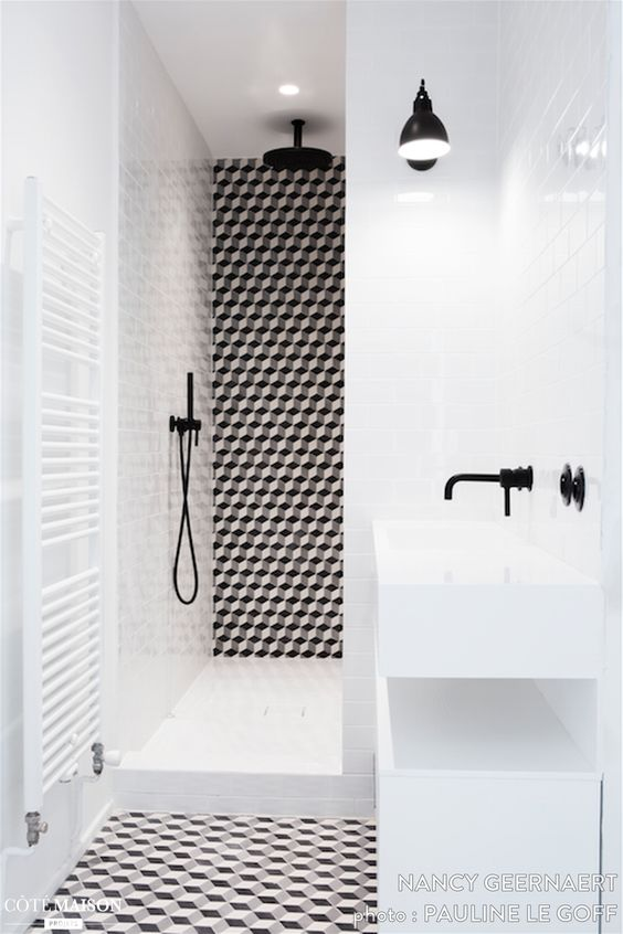 R novation d 39 un duplex dans le 16e arrondissement de paris for Architecte interieur salle de bain