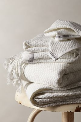 Mediterranean Bath Towel. These are my favorite for summer time. Even if I am at home, I feel I am on holiday.