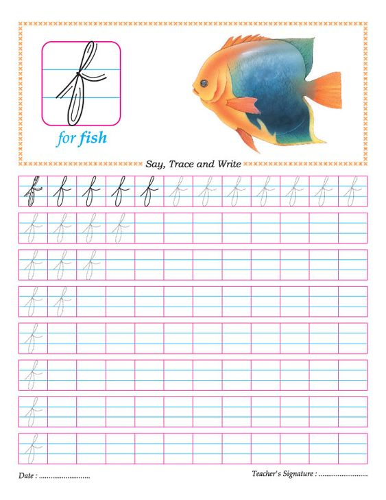 Number Names Worksheets how do you write the letter f in cursive : Small letters, Letter f and Cursive on Pinterest