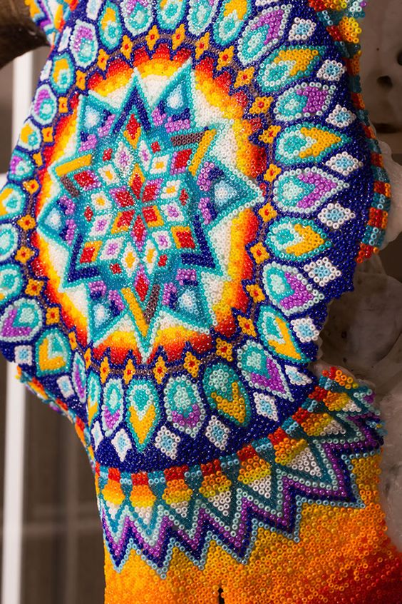 Huichol Beading Patterns - Google'da Ara