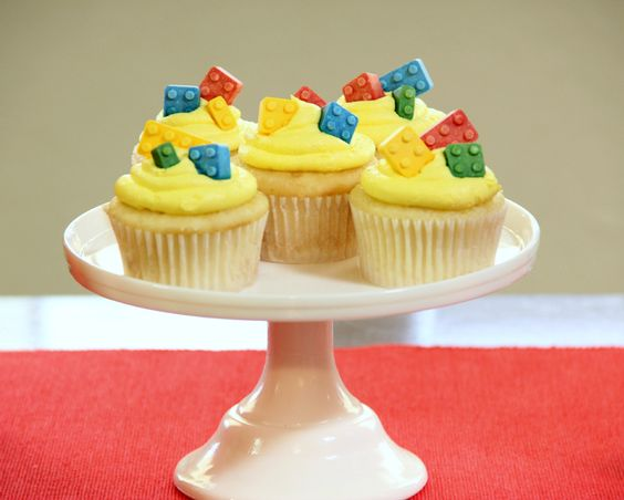 lego cupcakes - I ordered these candies, so I think it's cupcakes again this year...