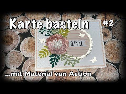 Tutorial Anleitung Karte Basteln Deutsch Mit Action Haul
