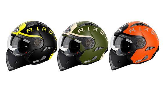 Novas decorações para um dos versáteis modelos de capacete do fabricante italiano.