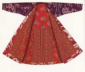 Rag kimono (Noragi ranru) from Japan.