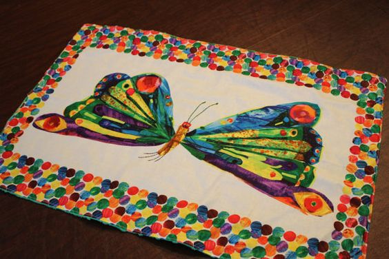 Very Hungry Caterpillar Personal Blanket  by CelebrationKids, $18.00