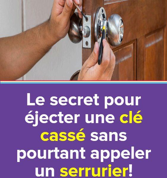 Le Secret Pour Ejecter Une Cle Cassee Sans Pourtant Appeler Un