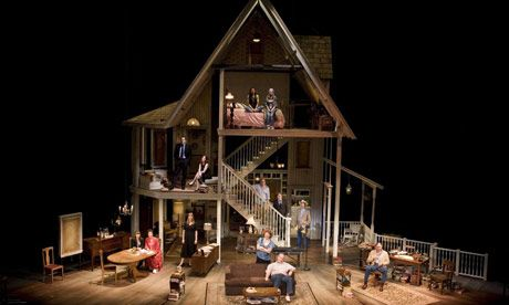August: Osage County opens on Wednesday at The National Theatre in London. Photograph: Karen Robinson