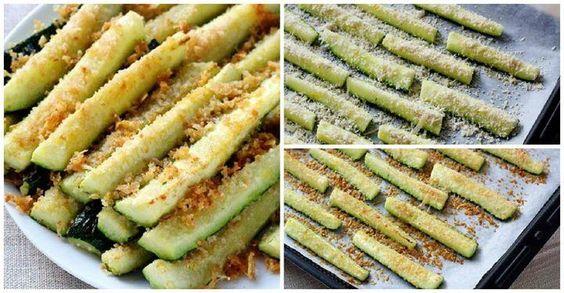 Cómo preparar palitos de calabacín con parmesano paso a paso