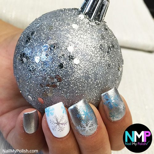 BEST CHRISTMAS NAILS 2016 - 37 CHRISTMAS NAILS! SEE THEM ALL HERE http://www.nailmypolish.com/christmas-nails/ | FOLLOW US @nailmypolish: