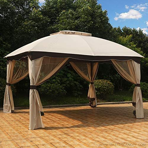 Mastercanopy Patio 10x12 Bermuda Gazebo Canopy Soft Top With Mosquito Netting Https Homeandgarden Boutiquecloset Com Pr Gazebo Gazebo Canopy Patio Pictures
