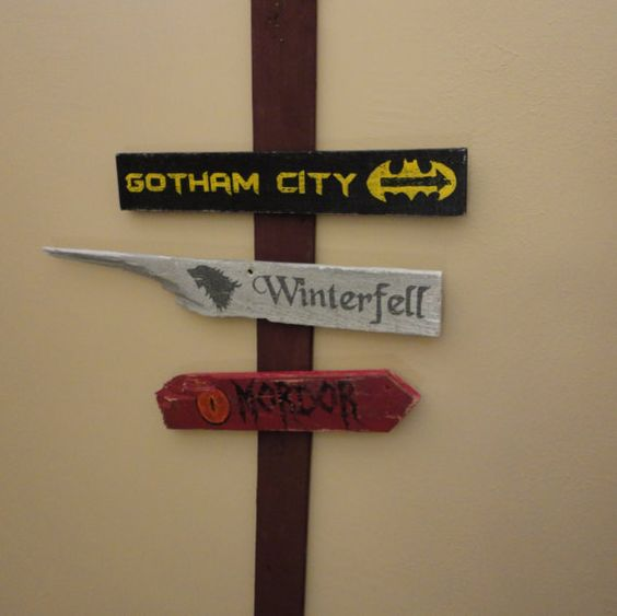 Wooden Directional Sign 3 Pack - Choose Any 3 Signs Available In Our Shop