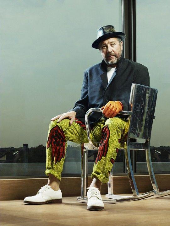 Philippe Starck Portrait Of Philippe Starckfrançois Sechet 2013  People .