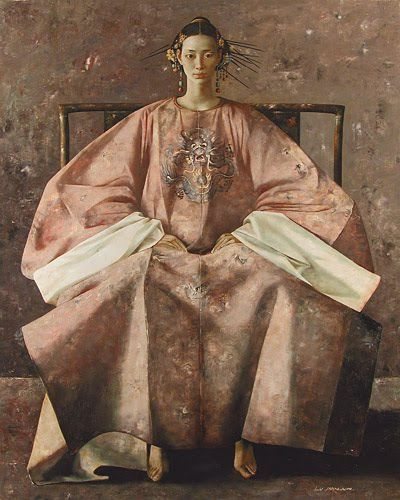 Chinese contemporary art by Lu Jian Jun