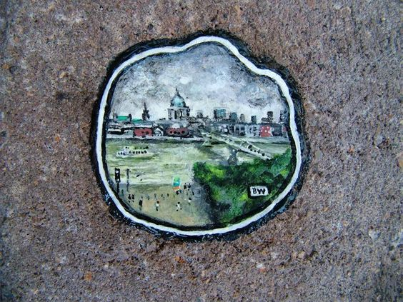 Brick Gum 1 Ben Wilson (aka Gum man) Street Art