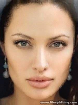 Almudena Fernandez and Angelina Jolie